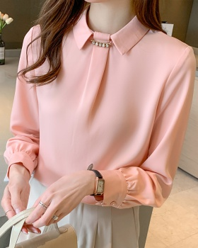 Western style tops spring shirt for women