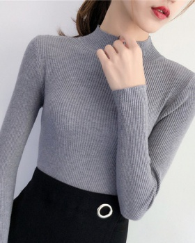 Korean style sweater long sleeve bottoming shirt for women