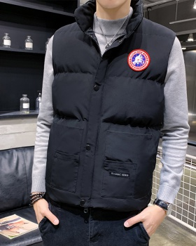 Down autumn and winter coat thick waistcoat for men