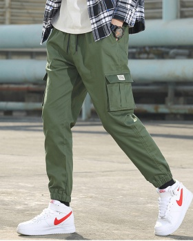Autumn pants Japanese style work pants for men