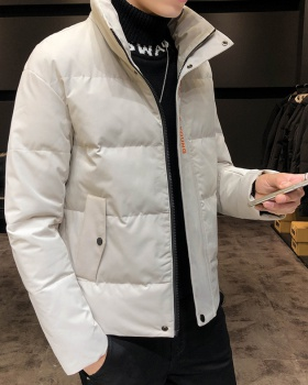Hooded Korean style thick jacket thermal winter coat for men