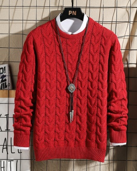 Autumn thick sweater fashion bottoming shirt for men