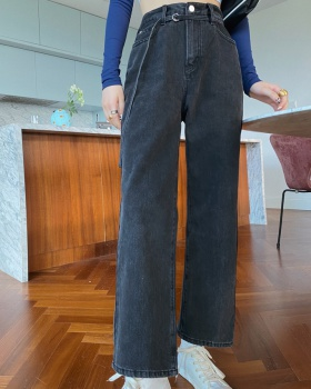 Straight Casual nine pants spring loose jeans for women