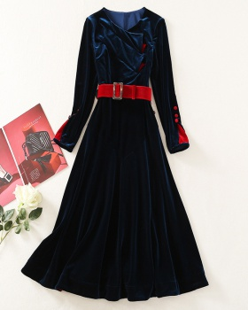 Banquet temperament dress bottoming formal dress