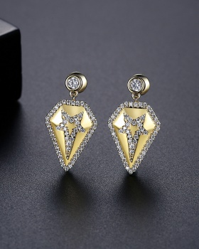 Korean style gold earrings fashion stud earrings