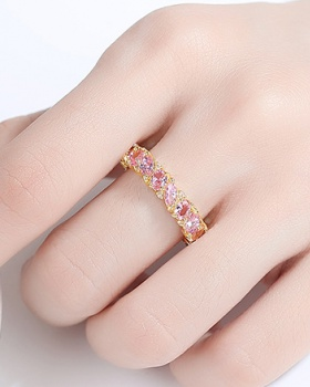 Hip-hop fashion personality Korean style ring