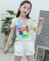 Summer pants pullover shirts 2pcs set for women