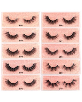 Multilayer mink hair exaggeration European style eyelash