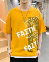 Youth short sleeve T-shirt handsome student tops for men