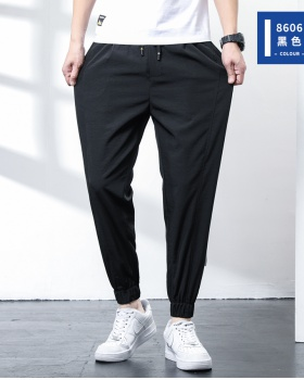 Fashion sports long pants summer casual pants for men