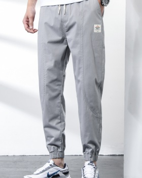 All-match Casual long pants loose spring and summer pants for men