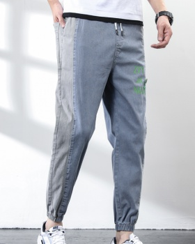 Casual jeans spring and summer long pants for men