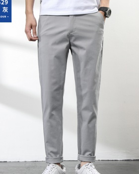 Spring and summer suit pants long pants for men