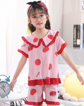 Korean style homewear baby summer pajamas a set for women