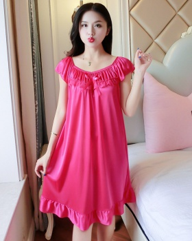 Summer sexy night dress lace cool pajamas for women