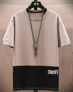 All-match loose round neck short sleeve T-shirt