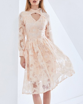 Fresh Korean style spring and summer dress