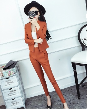 Korean style tops spring pencil pants a set for women