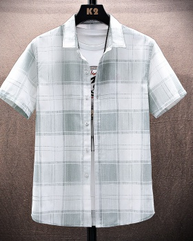 Casual shirt Japanese style tops for men