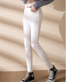 Elasticity jeans spring pencil pants for women