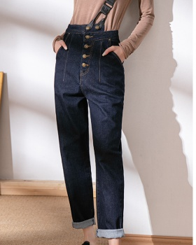 Shoulder harem pants pencil pants for women