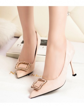 Banquet shoes European style high-heeled shoes