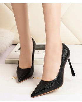 Profession shoes low high-heeled shoes for women
