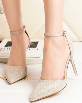 Profession sandals low high-heeled shoes for women