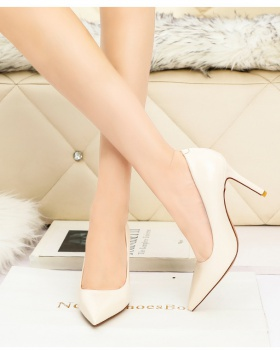 Korean style low high-heeled shoes profession fashion shoes