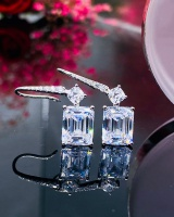 Pagoda ear-drop stud earrings for women