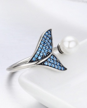 Fashion rhinestone ring foam accessories for women