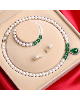 Pendant pearl gift necklace 3pcs set