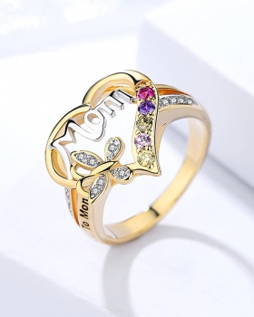 Gift accessories heart ring for women