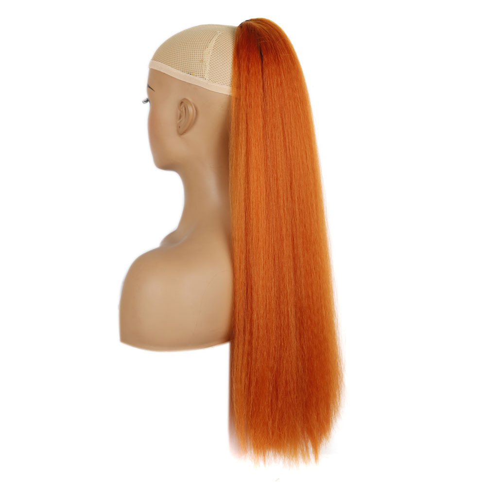 First explosion horsetail wig