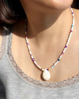 Turquoise clavicle necklace necklace for women