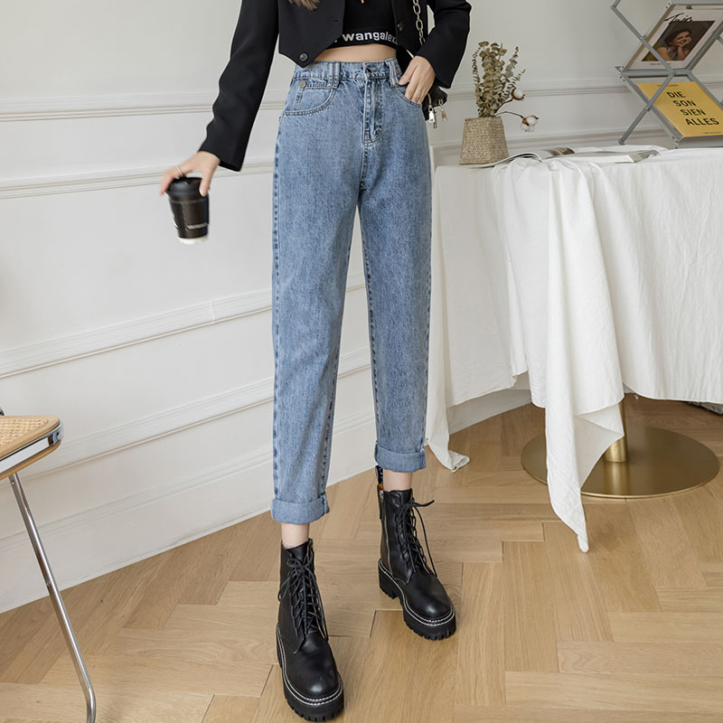 Summer harem slim jeans thin loose carrot pants for women