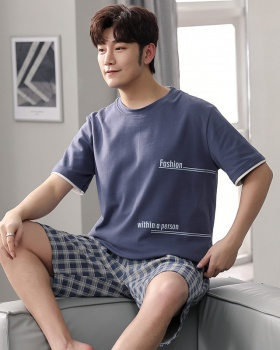 Fashion shorts letters pajamas a set for men