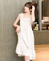 Sleeveless lovely summer student sling night dress