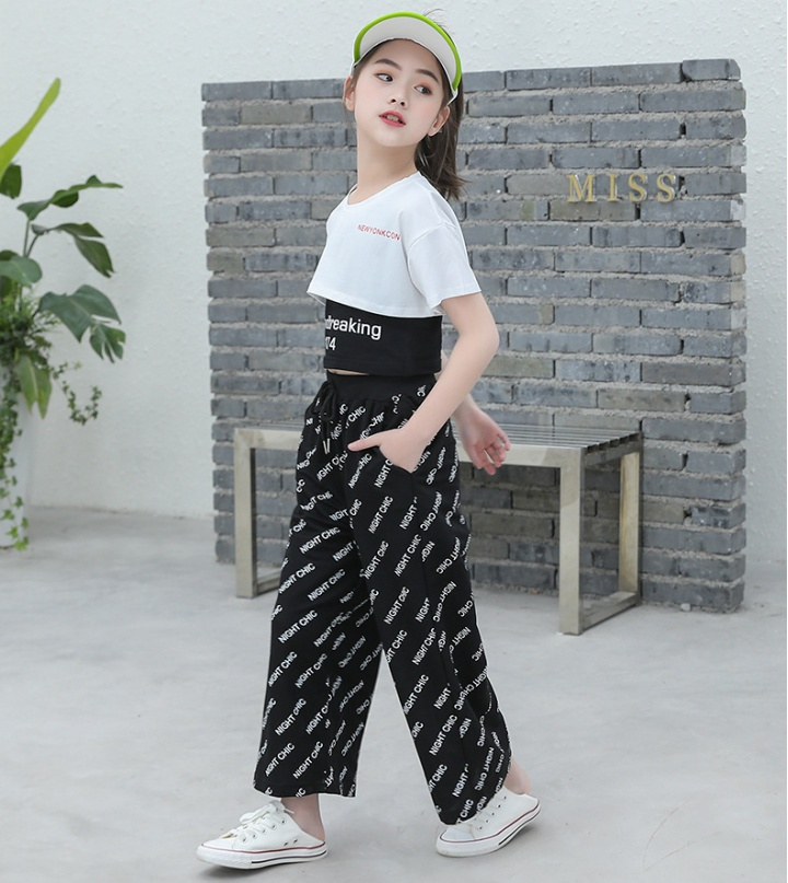 Child summer big child girl kids 3pcs set
