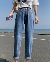 Spring and autumn loose spring jeans slim straight pants