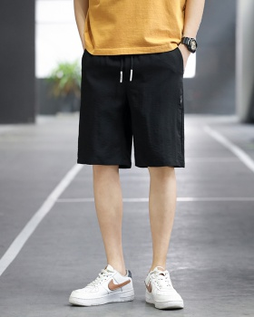 Sports casual pants elastic waist shorts for men