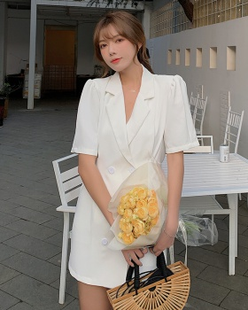 Summer slim business suit temperament dress
