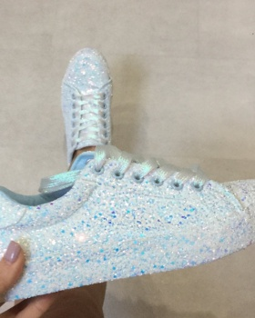 Sequins autumn and winter large yard shoes for women