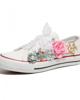 Flowers canvas shoes Casual shoes for women