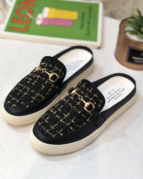 Wears outside fashion spring slippers for women
