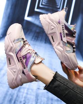 Thick crust student Sports shoes Casual run shoes for women