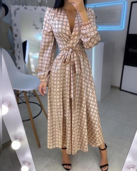 Temperament large yard fashion printing dress