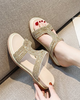 Korean style fashion soft soles Casual sandals for women