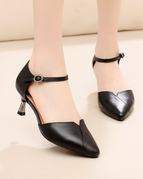 Breathable genuine leather simple shoes