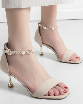 Sexy cat high-heeled shoes cingulate summer sandals